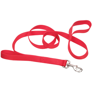 red double leash